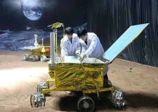China Mulls Plans for New Moon Rock Lab