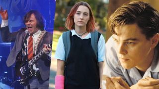 Jack Black in School of Rock, Saoirse Ronan in Lady Bird and Leonardo DiCaprio in Catch Me If You Can, three of the best Netflix movies