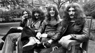 Black Sabbath, 1970: Bill Ward, Tony Iommi, Ozzy Osbourne, Geezer Butler