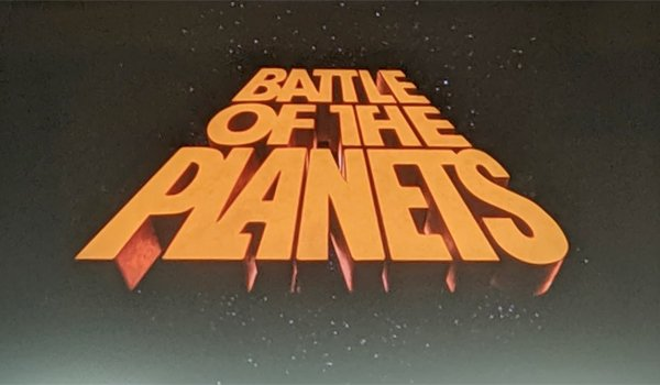 The Battle of the Planets title card
