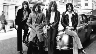 Led Zeppelin in the late 60s