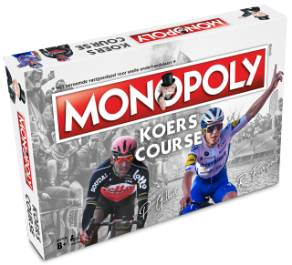 The Belgian version of Cycling Monopoly