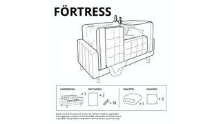 IKEA fort