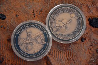 Curiosity 1-Year Anniversary Medallion