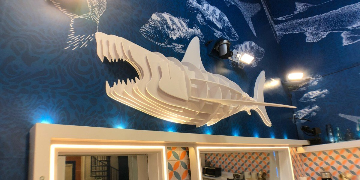 Shark in Big Brother House CBS