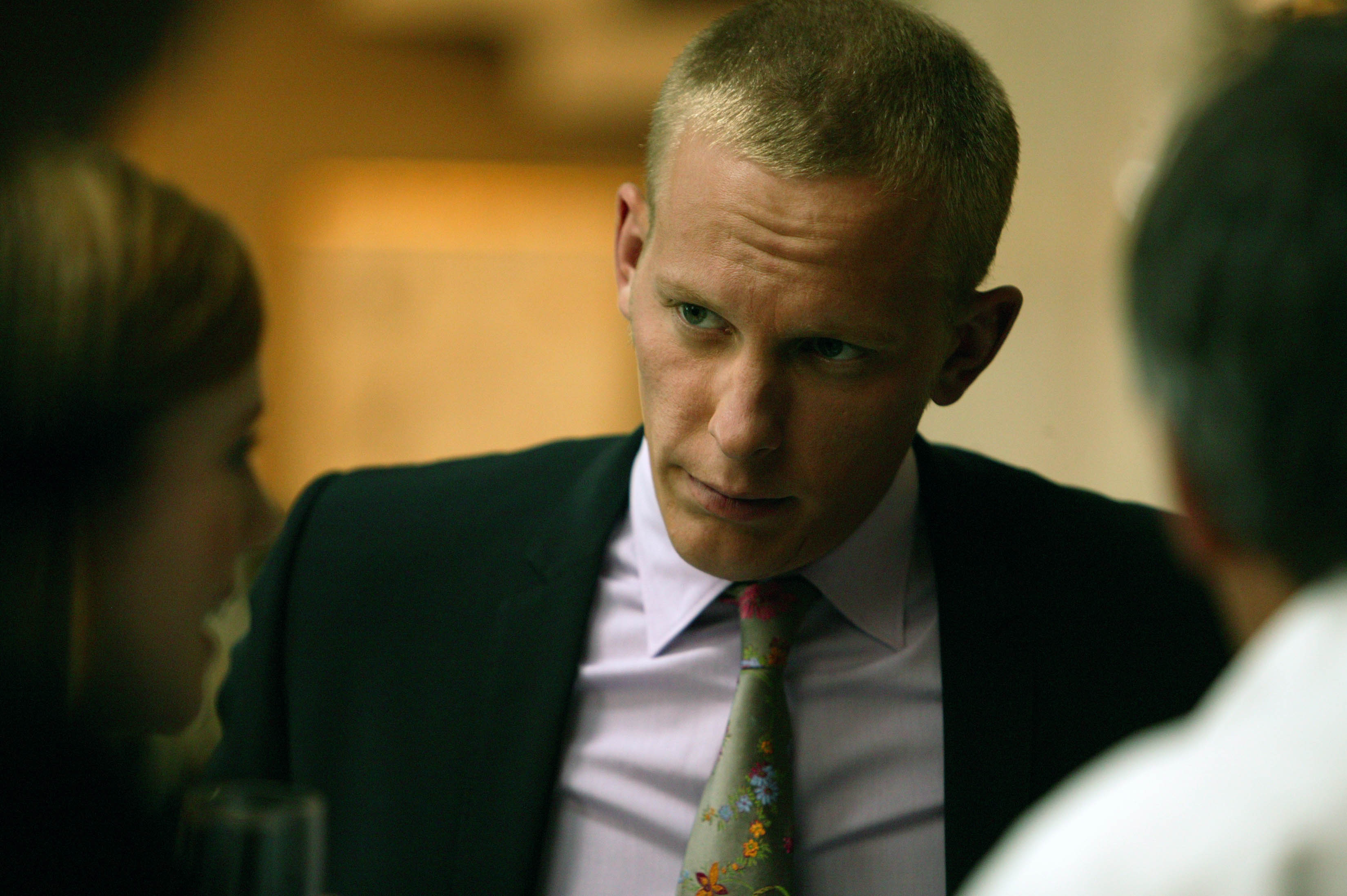 A quick chat with Lewis star Laurence Fox