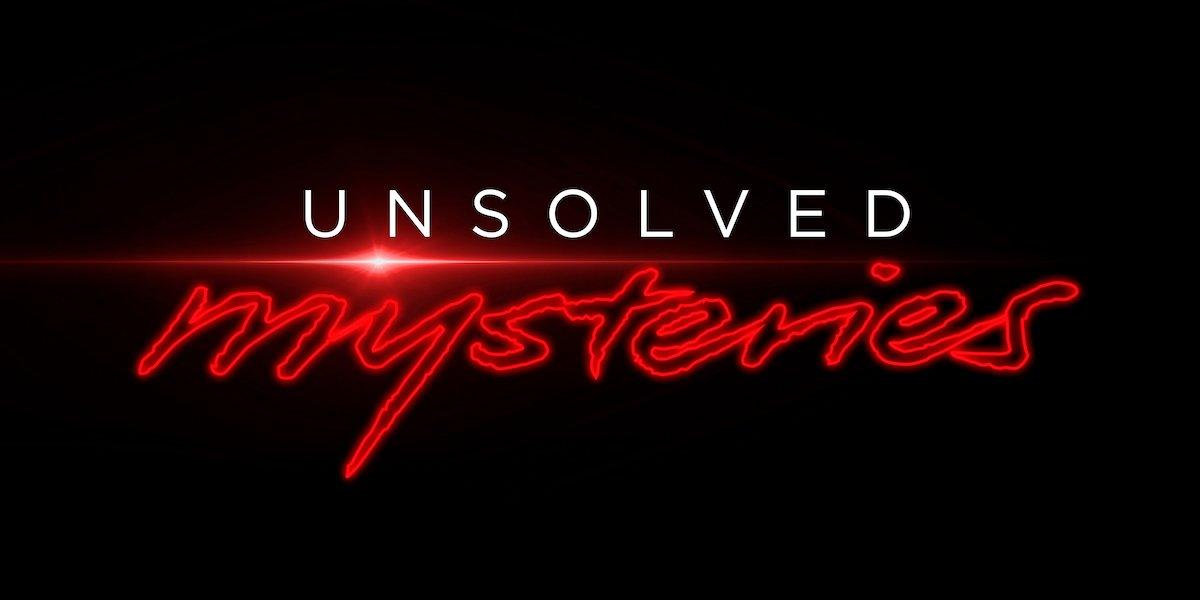unsolved mysteries logo netflix