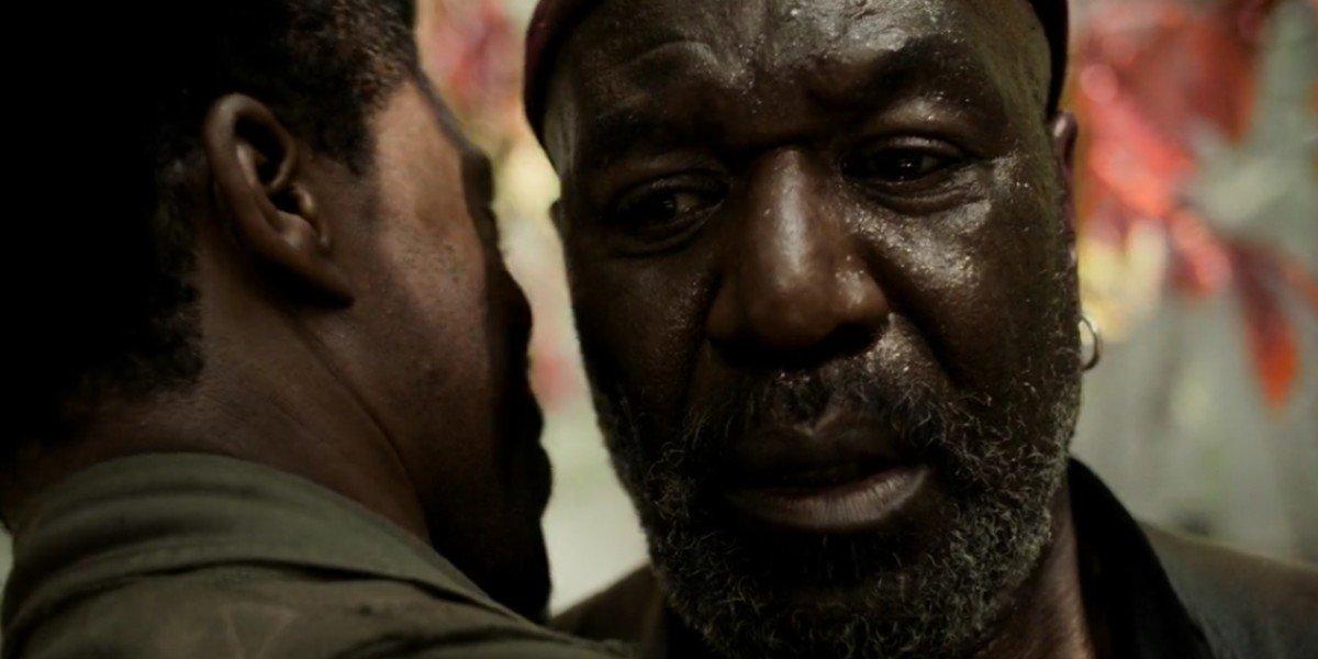 Delroy Lindo and Chadwick Boseman in Da 5 Bloods