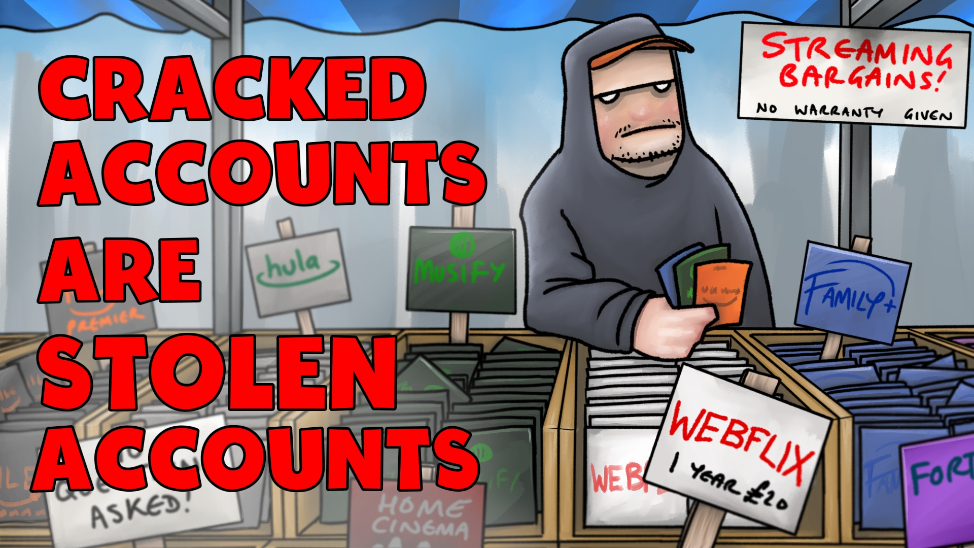 The NCA steps up its efforts to protect gamers from account hijacking