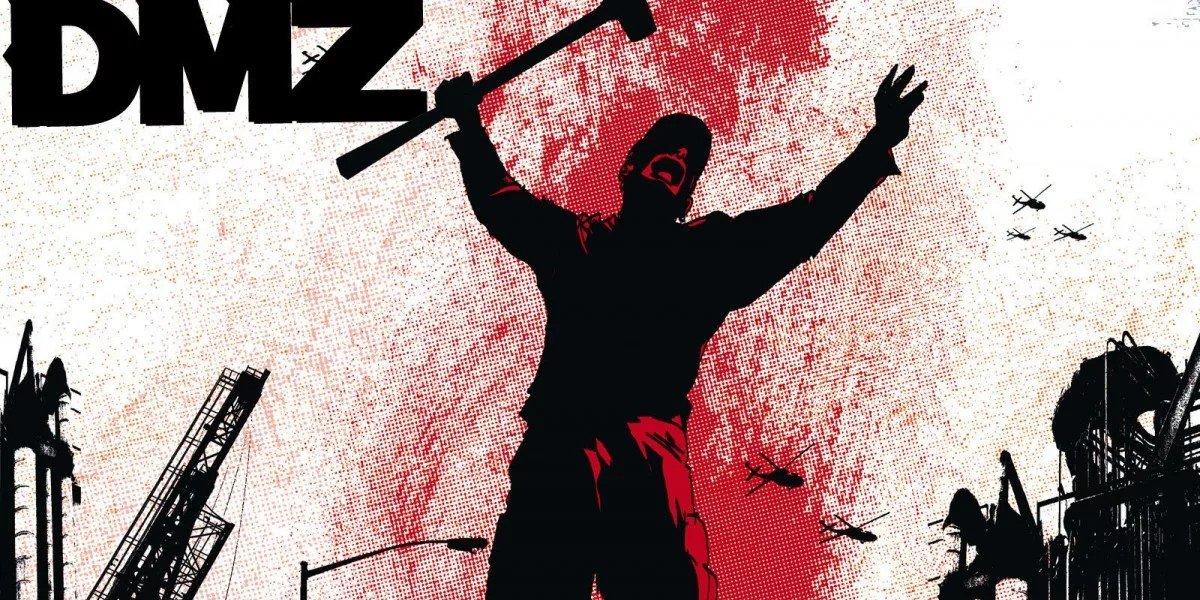 DMZ Comic Cover