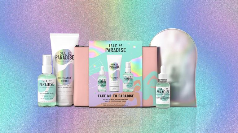 Isle Of Paradise gift set