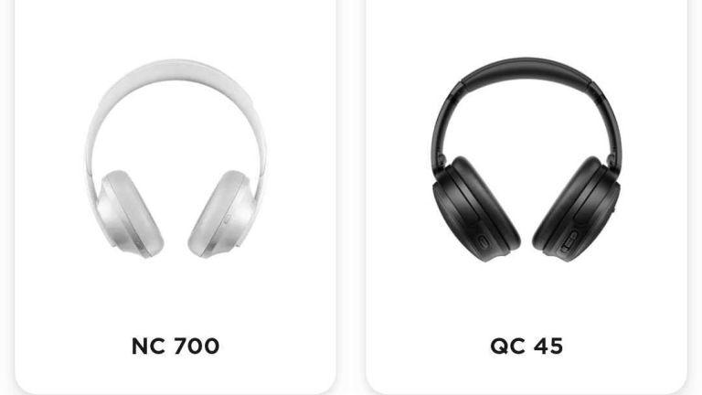 Bose QC45 leak