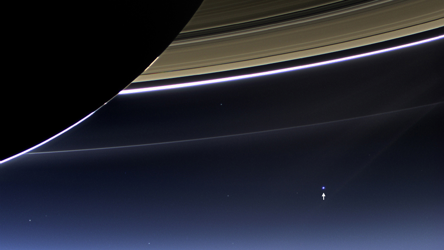 Imagine All The People When Cassini Looked Back At Earth Space