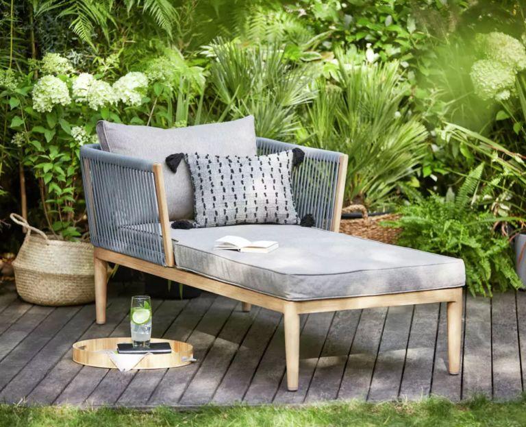 Most popular garden items of 2020: Argos Home Pascal Sun Lounger