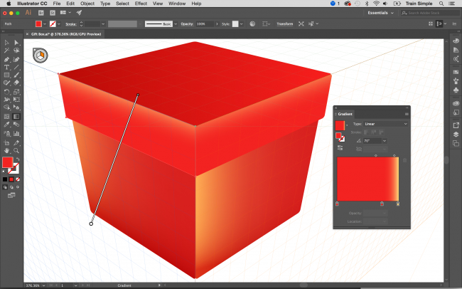 Illustrator tutorials: perspective grid