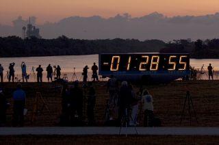 NASA's Kennedy Space Center Countdown Clock