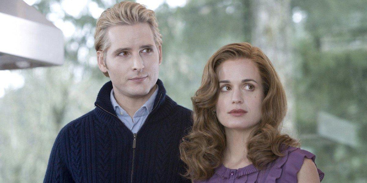 Peter Facinelli, Elizabeth Reaser - Twilight Saga
