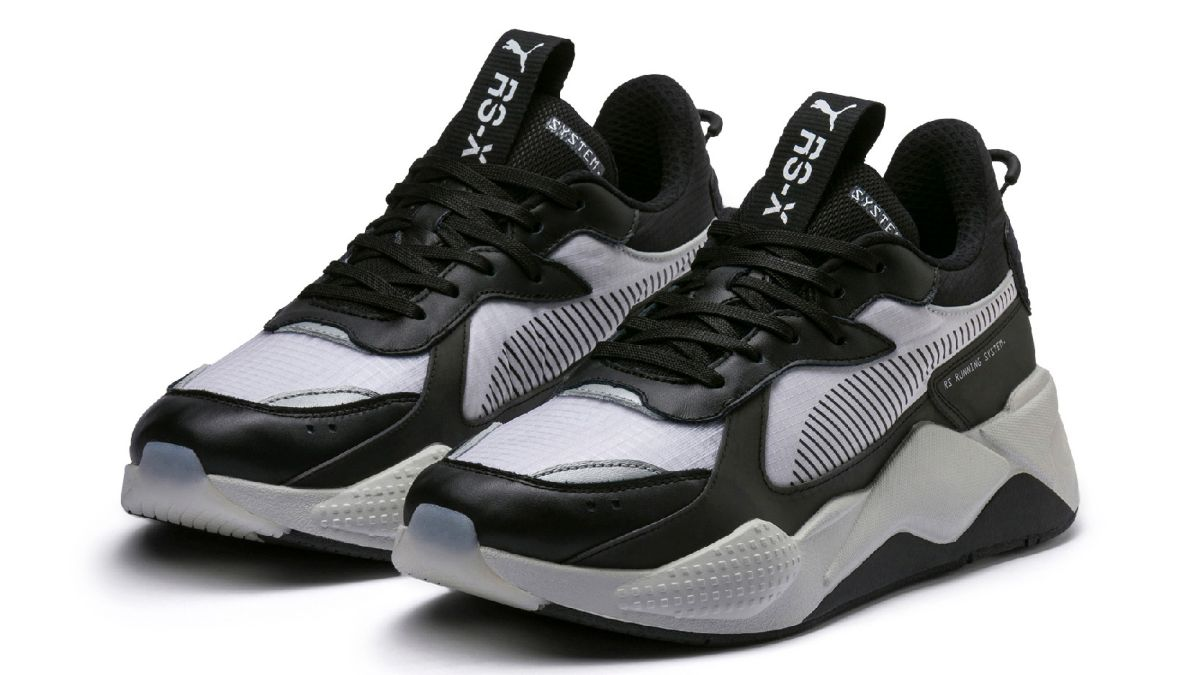 retro tech-inspired sneaker