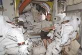 Faulty Space Suit Repaired by ISS Crew