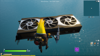 AMD RX 6000 series in Fortnite
