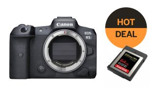 Best Canon EOS R5 deal
