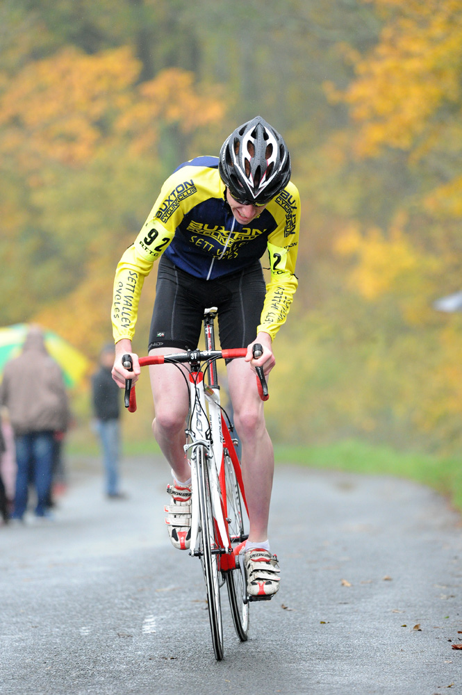 Chris Baines, Junior winner, National Hill-Climb Championships 2010