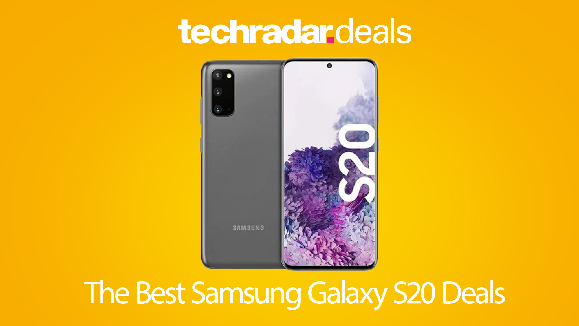 The Best Samsung Galaxy S20 Deals For Black Friday And Cyber Monday 2020 Techradar
