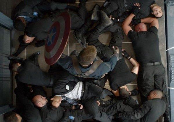 Cap in elevator