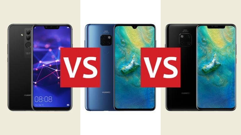 Huawei Mate 20 Lite vs Huawei Mate 20 vs Huawei Mate 20 Pro