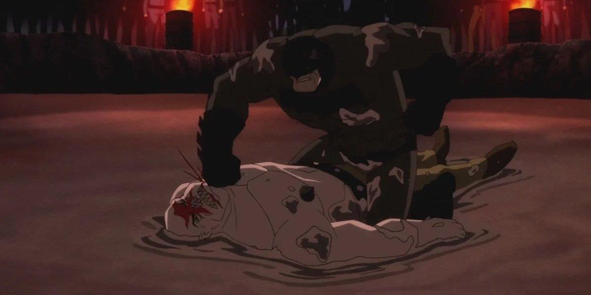 Peter Weller in Batman: The Dark Knight Returns, Part 1