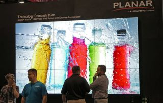 New Generation Video Walls at Digital Signage Expo