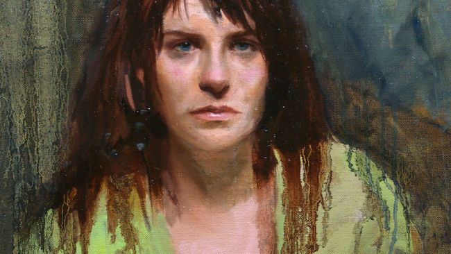 potret seorang wanita