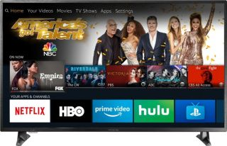Get a free Echo Dot with this 50in 4K TV deal