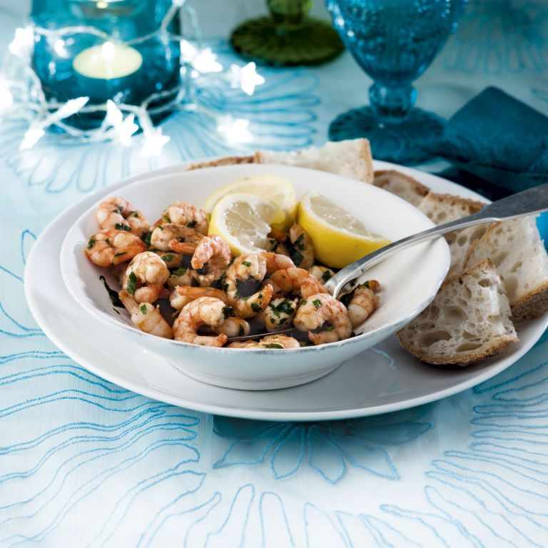 Photo of Prawns in anchovy butter