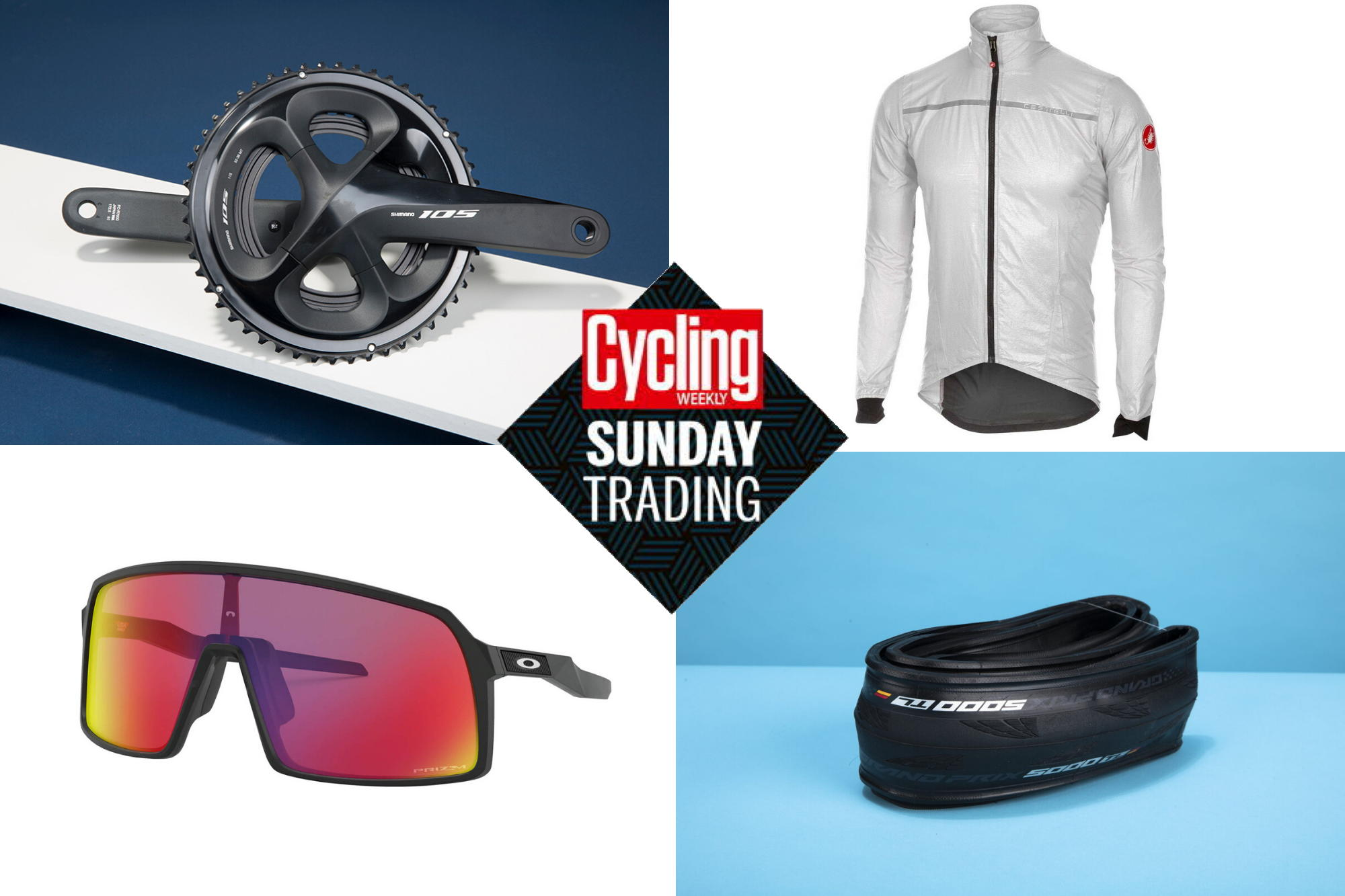 Sunday trading: Save 40% on Shimano's 105 groupset plus much more