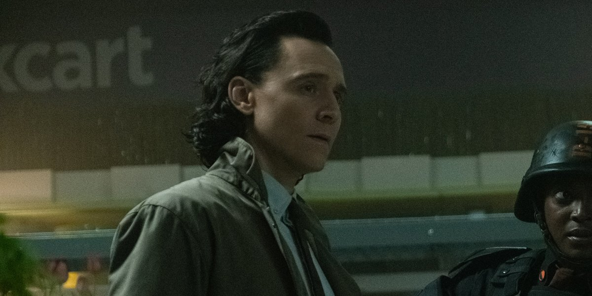 Tom Hiddleston as Loki in Loki Episode 2