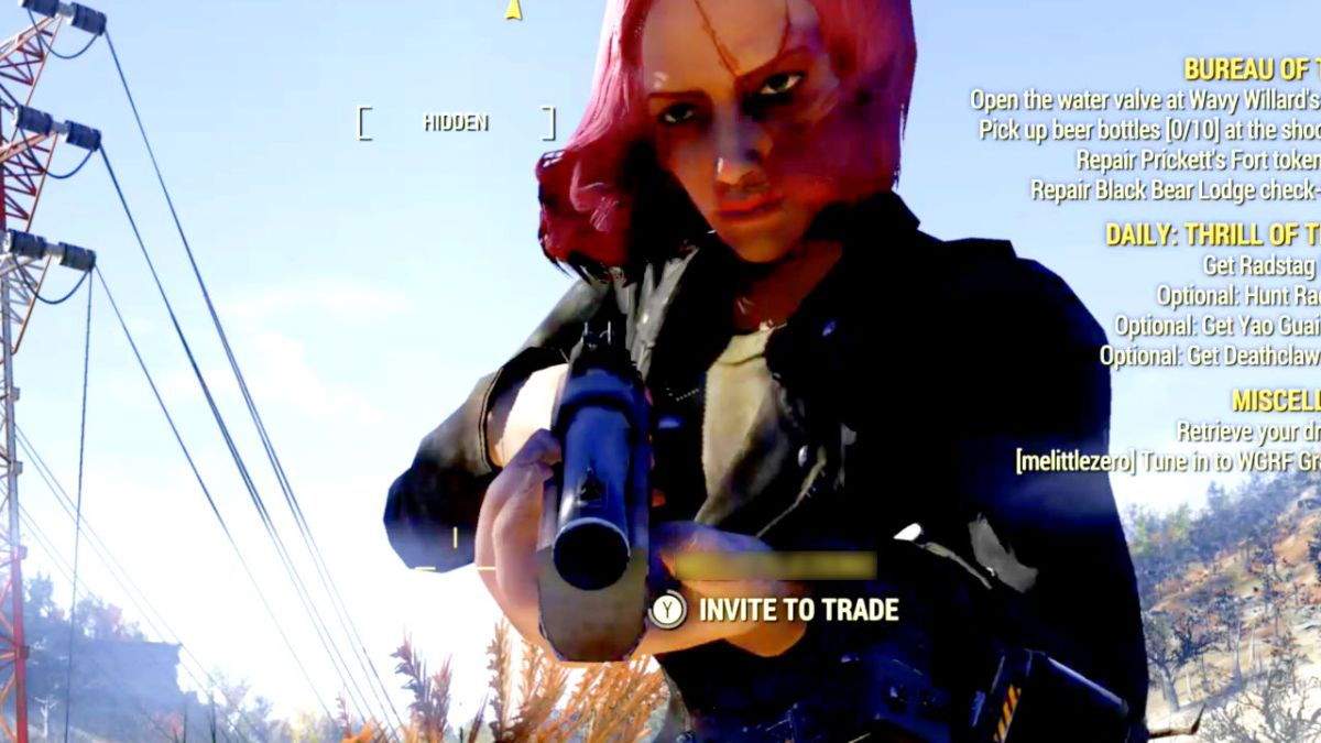 Some Fallout 76 players really want to become in-game