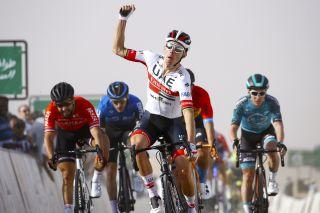 Rui Costa wins stage 1 of the Saudi Tour