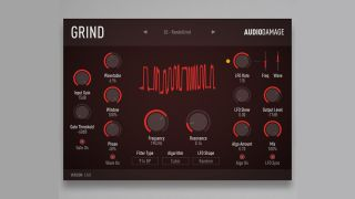 "Audio Damage's Grind is the ""brutal"" sound design plugin that you"