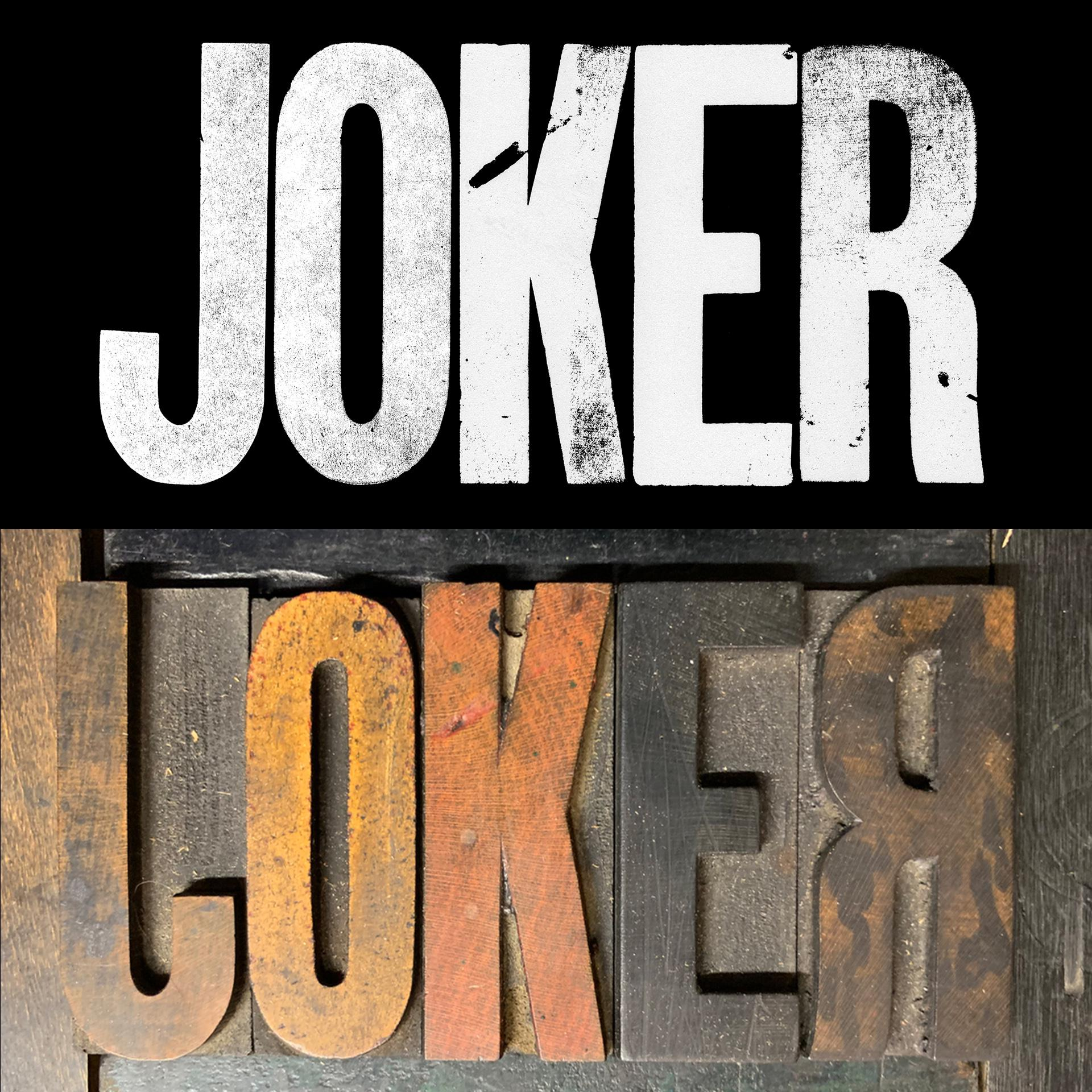 The new Joker logo has a surprising origin story | Creative Bloq