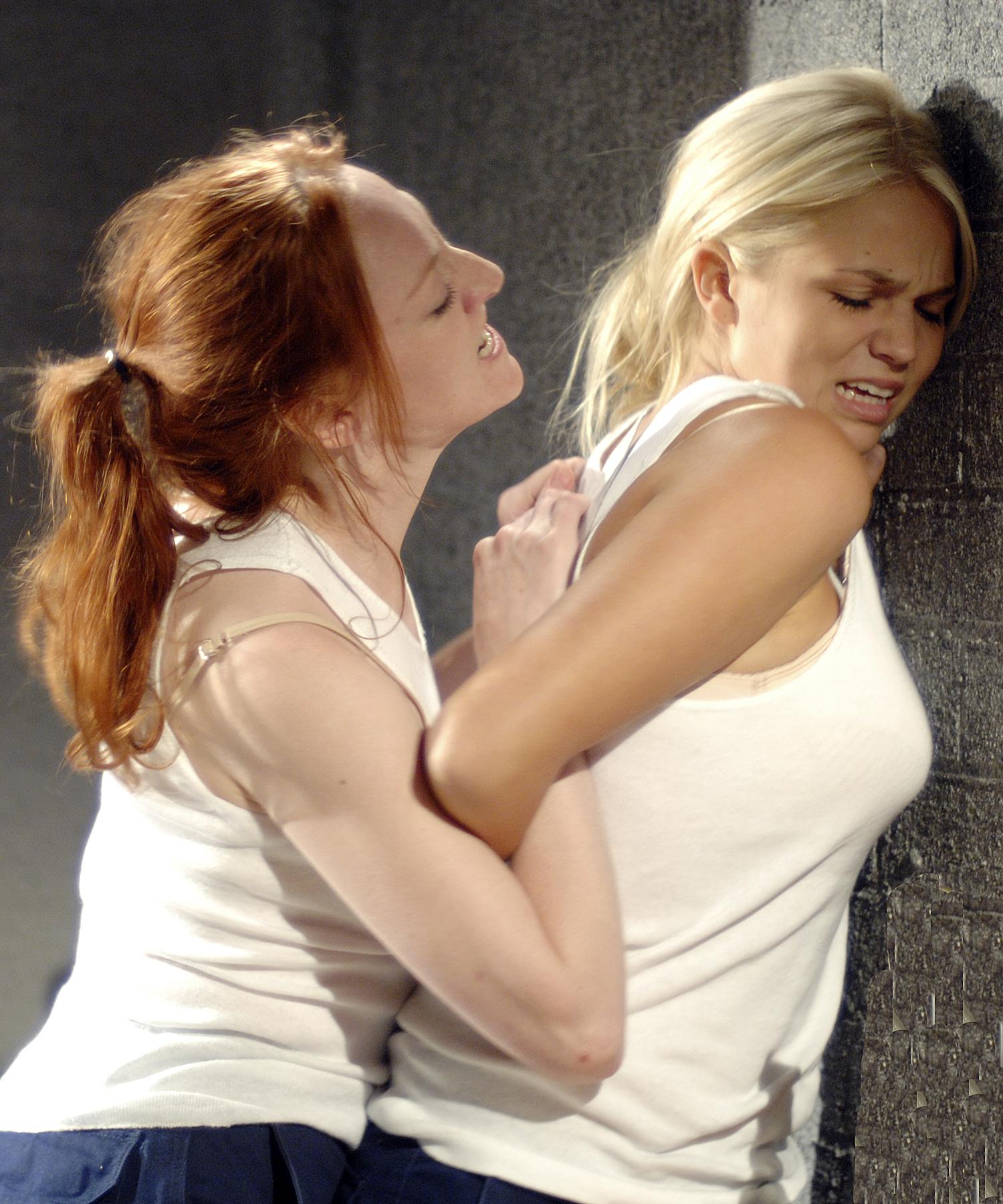Mary saves Sky from evil Krystal