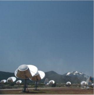 Seti Institute's Allen Telescope Array in California