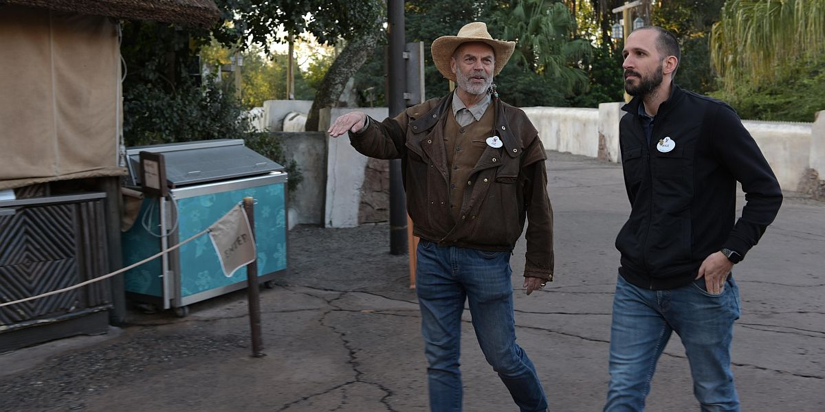 Joe Rohde at Disney's Animal Kingdom