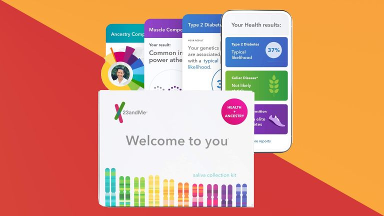 23andMe DNA review testing kit