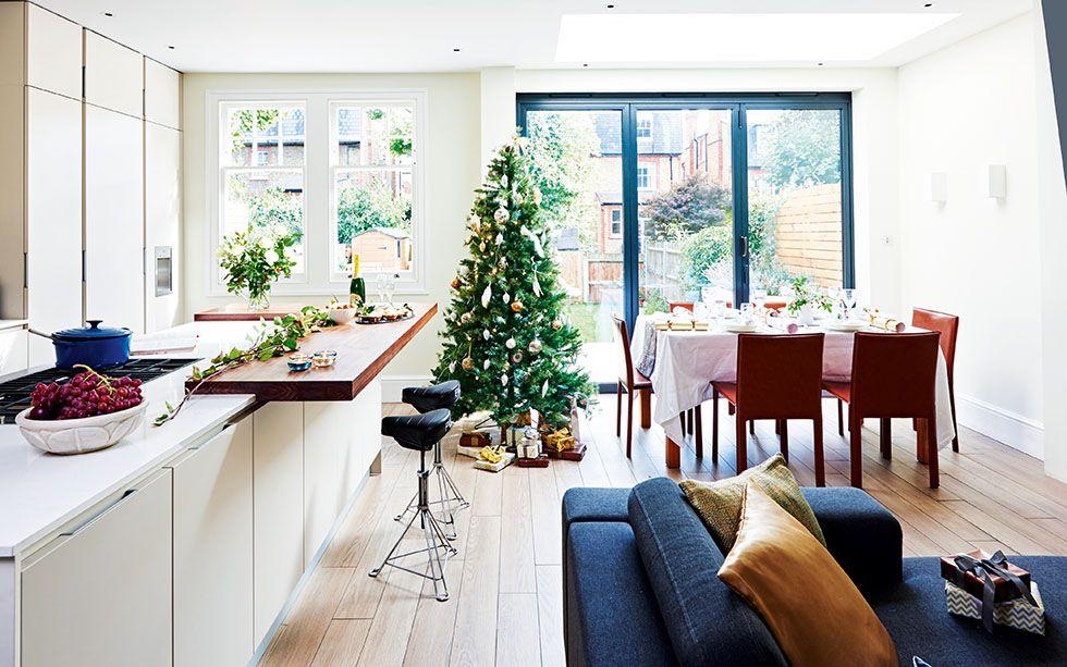 Modern Kitchen Diner From A Side Return Extension