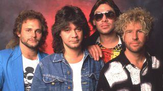 Hagar with Van Halen in the 80s