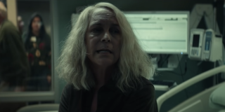 Laurie in the hospital in Halloween Kills