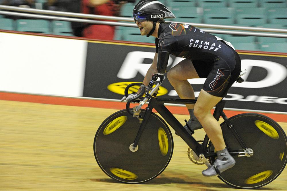 Jon Allen Butterworth sets world record in Paracyling 200m FS TT, British Track National Championships 2011