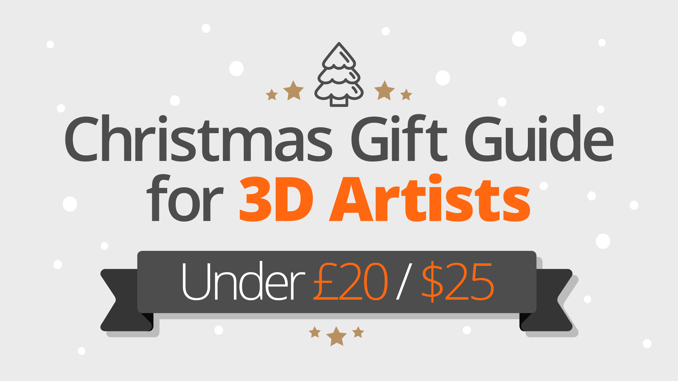 Christmas gift guide for 3D and VFX artists under £20/$25   Creative ...