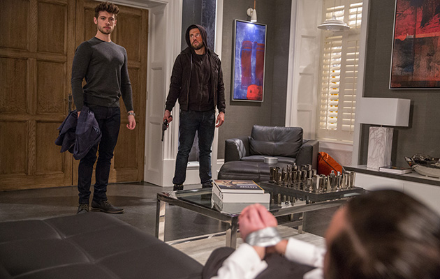 Emmerdale spoilers! Ross confronts Joe with a gun but who ends up in the firing line?